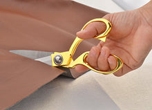 "Load image into Gallery viewer, eZthings 12"" Upholstery Shears Heavy Duty Scissors for Cutting Arts and Craft Fabrics, Carpets"