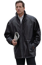 Load image into Gallery viewer, REED Men's 34'' Raglan Car Coat in Imported Lamb with Zip-Out Lining