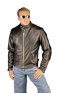 REED Classic Motorcycle Leather Jacket Made in USA