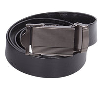 Load image into Gallery viewer, NO HOLES Men's Heavy Duty Durable Automatic Buckle PU Leather Belt