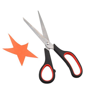 eZthings Scissors Set for Home Crafts and Arts or Office Cutting Projects (Multipurpose Scissors)