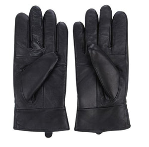 Reed Women's Genuine Leather Warm Lined Driving Gloves