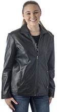 "Load image into Gallery viewer, REED Women's 26"" Classic Leather Jacket"
