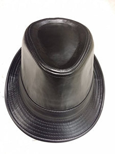 REED Fedora Hat Men's Indented Crown Gangster Style Brim