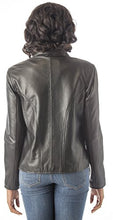 Load image into Gallery viewer, REED Women's Moto Leather Fashion Jacket - Genuine Leather Coat