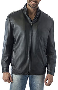 REED Men's 27'' Suave Leather Jacket in English Lamb