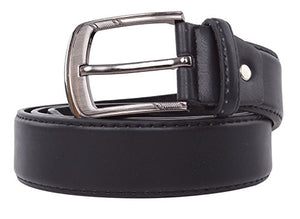 Classic Men's PU Leather Belt for Dress or Casual