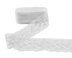 eZthings Designer Decorating Embroidered Lace and Trims for Sewing and DIY Craft Projects