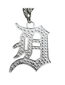 "Detroit Letter ""D"" Initial Necklace"