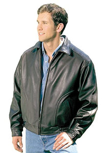 REED Men's All American Bomber Leather Jacket Union Made in USA