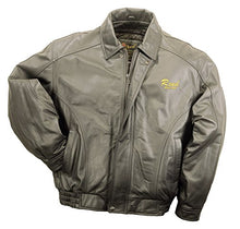 Load image into Gallery viewer, REED Men's American Style Bomber Genuine Leather Jacket
