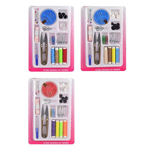 eZthings Sewing Accessories Replenishment Thread Kits for Arts and Crafts