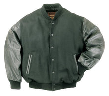 Load image into Gallery viewer, REED Womens Wool Varsity Leather Jacket (Imported)
