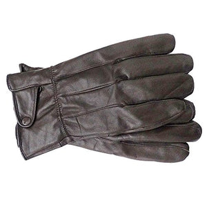 Reed Men's Genuine Leather Warm Lined Driving Gloves - Touchscreen Texting Compatible