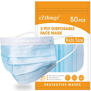 eZthings Professional Crafts Disposable Face Masks for Painting, Cutting, or Sewing