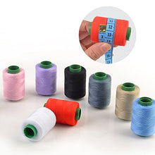 Load image into Gallery viewer, eZthings Professional Sewing Thread Kit for Arts and Crafts (380 Yard Thread x 10 Colors)