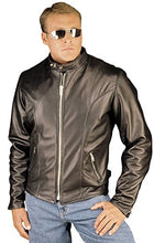 Load image into Gallery viewer, REED Men's Leather Motorcycle Coat Made in USA