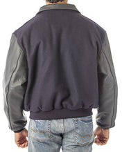Load image into Gallery viewer, REED Men's Leather Top Gun Varsity Bomber Jacket Made in USA