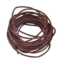 Cargar imagen en el visor de la galería, REED Genuine Leather Cord Braiding Lace Strings for Leather Crafts and Jewelry Making of Necklaces Plus Bracelets
