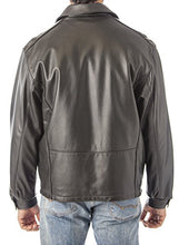 Cargar imagen en el visor de la galería, REED Men's Casual Leather Jacket Union Made in Detroit, USA