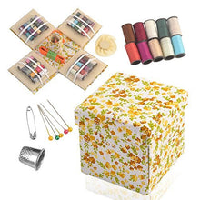 Load image into Gallery viewer, eZthings Professional Sewing Supplies Variety Sets and Kits for Arts and Crafts (Basket)