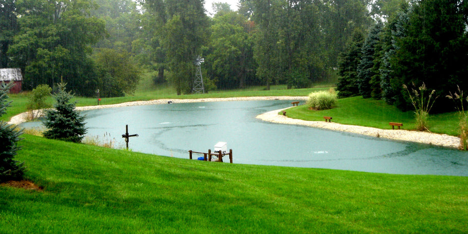 How Aeration Systems Benefit Your Pond | Organic Pond