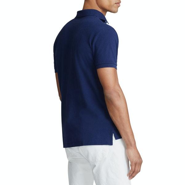 Polo Small Pony Custom Slim Fit In Navy