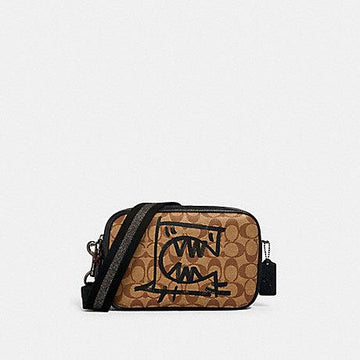 Coach Vale Jes Crossbody In Signature With Rexy By Guang Yu