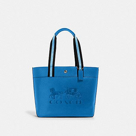 Coach Jes Tote With Horse Carriage In Blue
