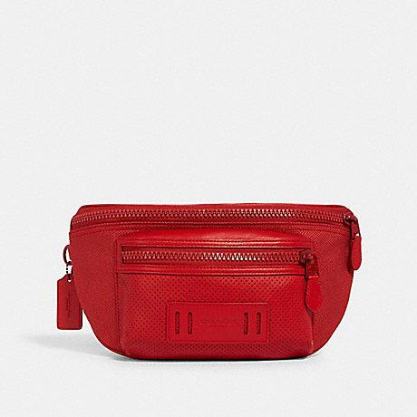 Coach Terrain Belt Bag In Crimson