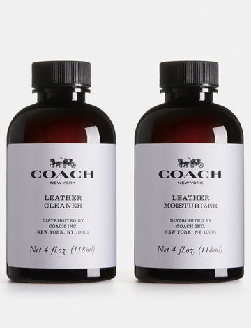 Coach Product Care Set - Leather Moisrutizer, Cleaner and Cloth