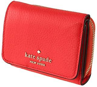 Kate Spade Leila Small Trifold Continental Wallet In Geranium