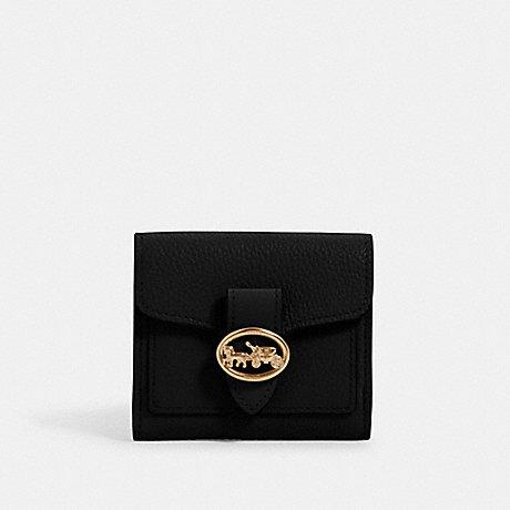 Coach Georgie Small Wallet In Black