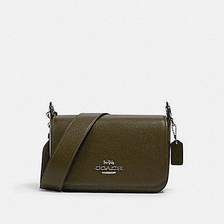 Coach Small Jes Messenger In Cargo Green
