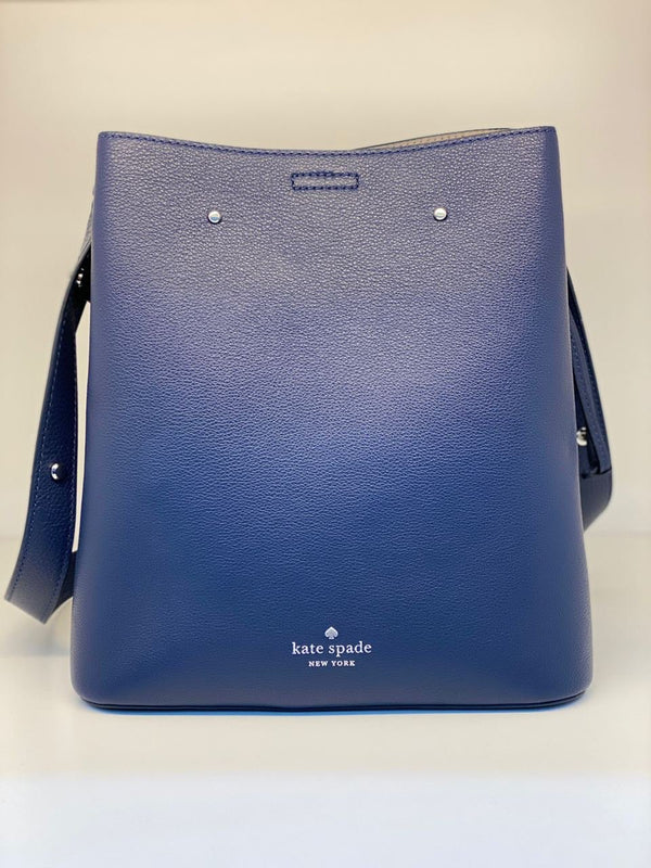 Kate Spade Marti Large Bucket In Nightcap Navy