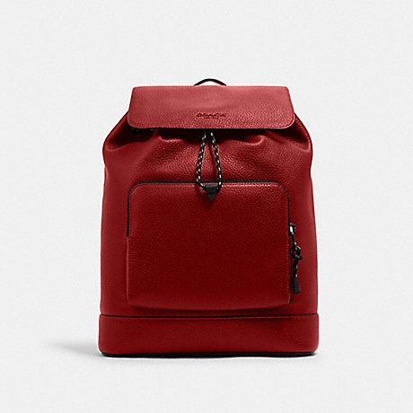 Coach Men Turner back pack in Red