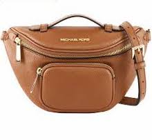 Michael Kors Erin Waist Pack Crossbody In Luggage