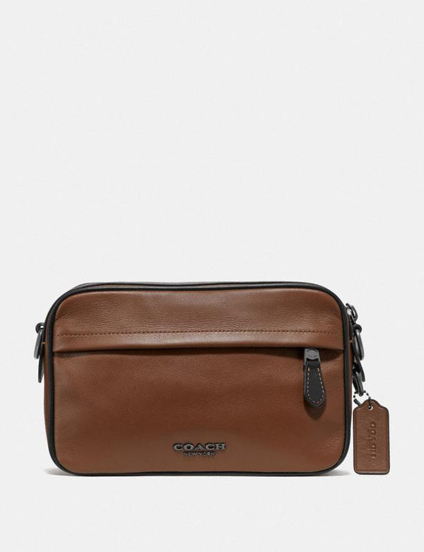 Coach Graham Crossbody In Saddle