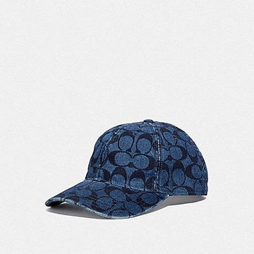 Coach Signature Hat Denim