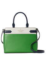 Kate Spade Staci Colorblock Medium Satchel In Vermagrmul