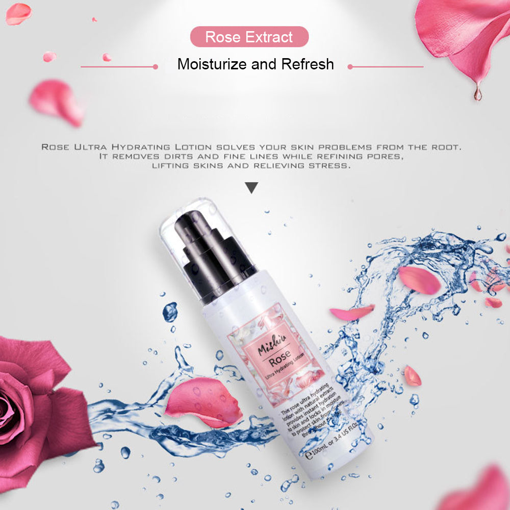 Rose Ultra Hydrating Lotion Refreshing Emulsion Lotion