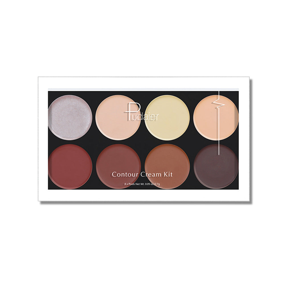 8 Color High Gloss Repair Palette Concealer Highlight & Contour