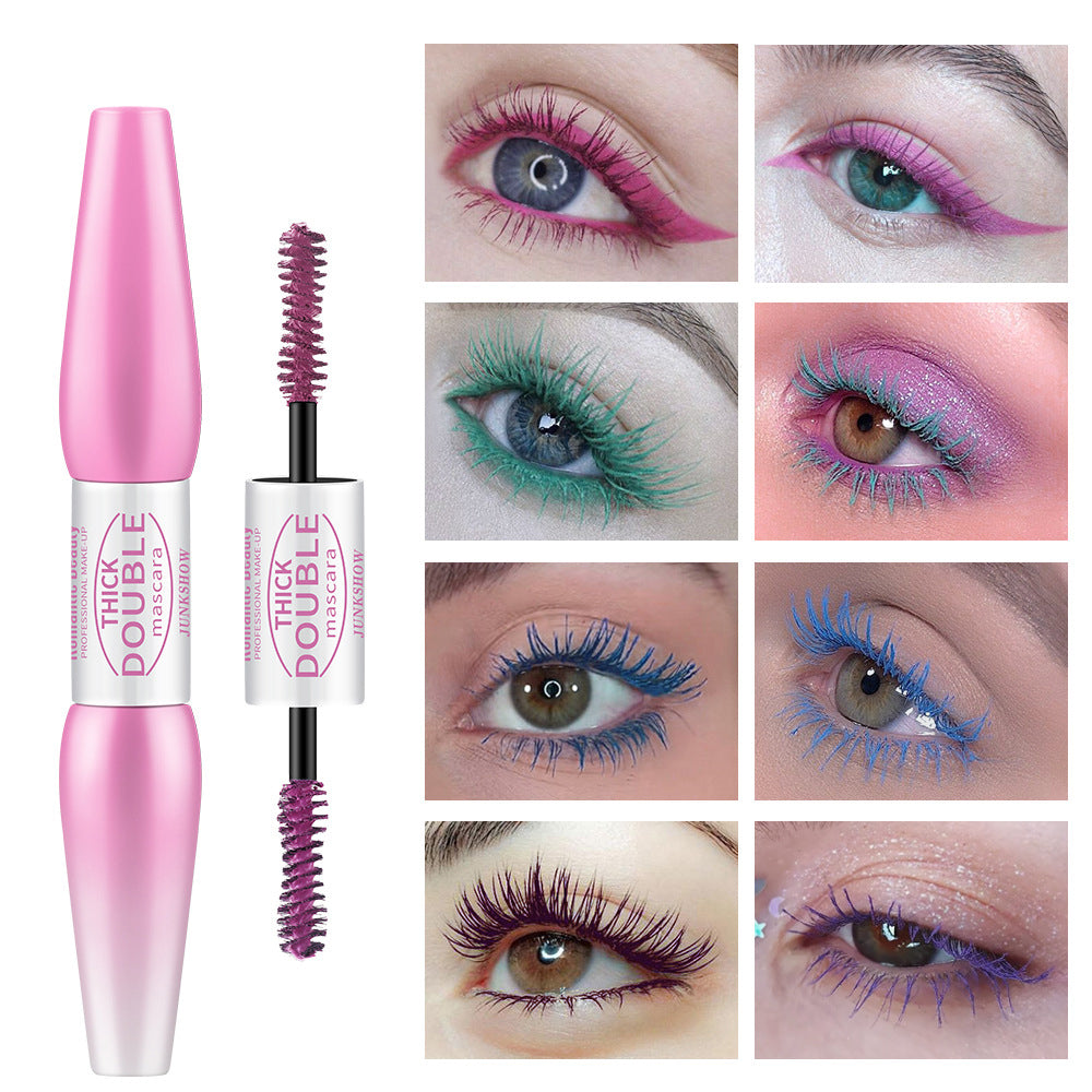 Double-Geaded Colored Mascara