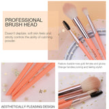 3Pcs Makeup Brushes Set