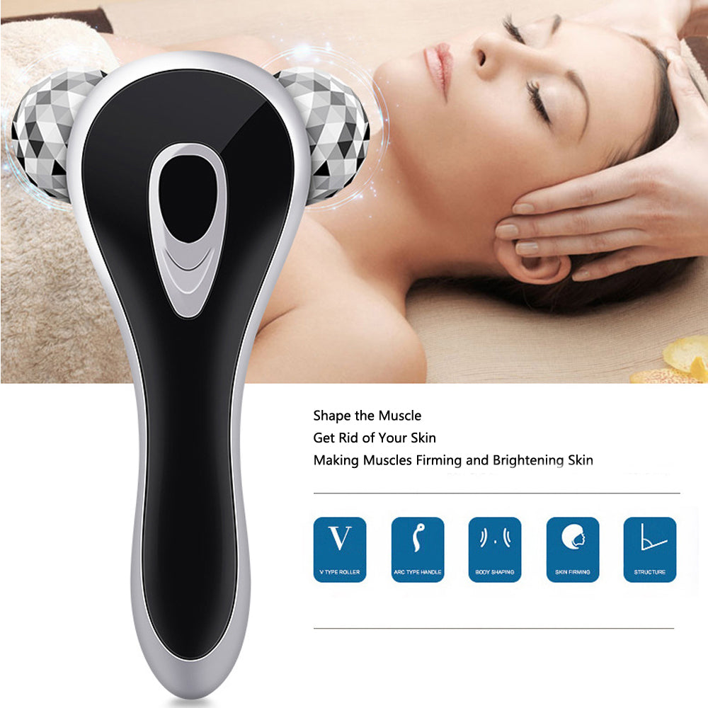 3D Roller Face Firming Lifting Massager