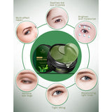 Seaweed Hydrating Crystal Eye Mask (60Pcs)