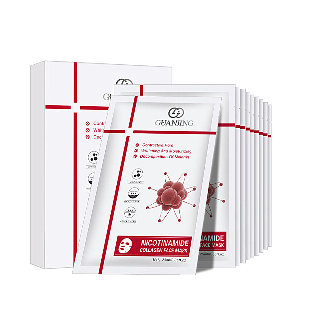 Nicotinamide Collagen Face Mask (10 Sheets)