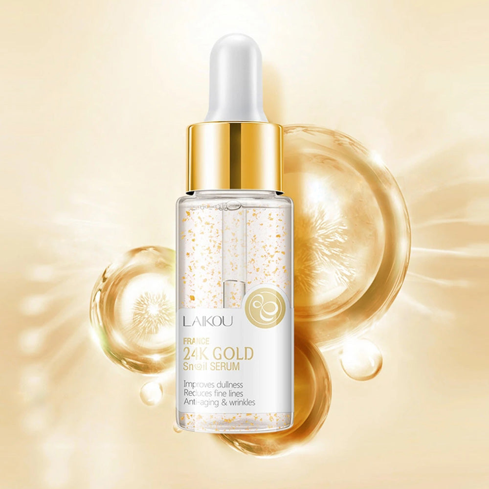 24K Gold Snail Serum Essence