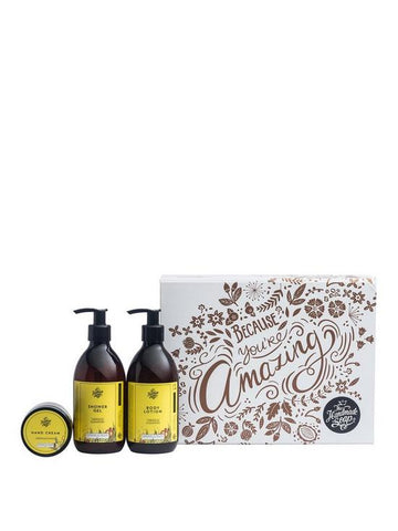 The Handmade Soap Because You're Amazing Gift Set