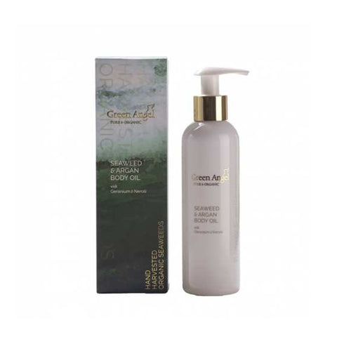 Green Angel Seaweed & Argan Body Oil
